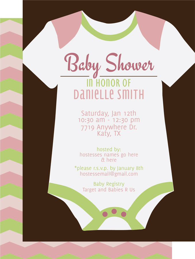 custom shower invitations kateo group etsy store
