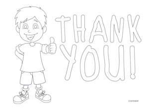 thank you card to color - Etame.mibawa.co
