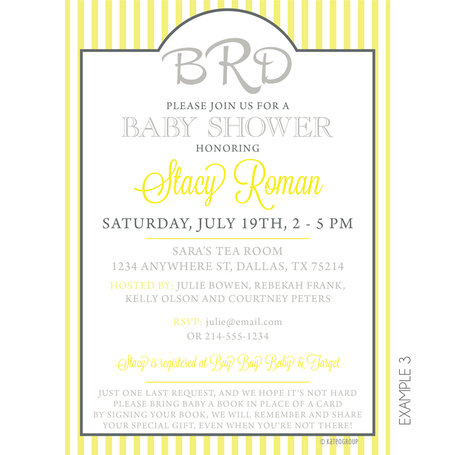 Monogram baby shower invitation kateogroup monogram baby shower invitation filmwisefo