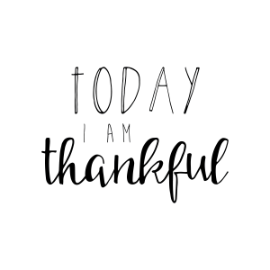 Today I Am Thankful Free Download