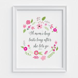 Mother's-Hug-Print-Framed