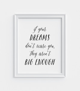 Dreams print freebie