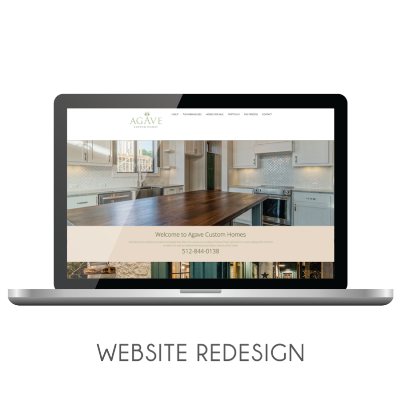 Agave Custom Homes | Website Redesign