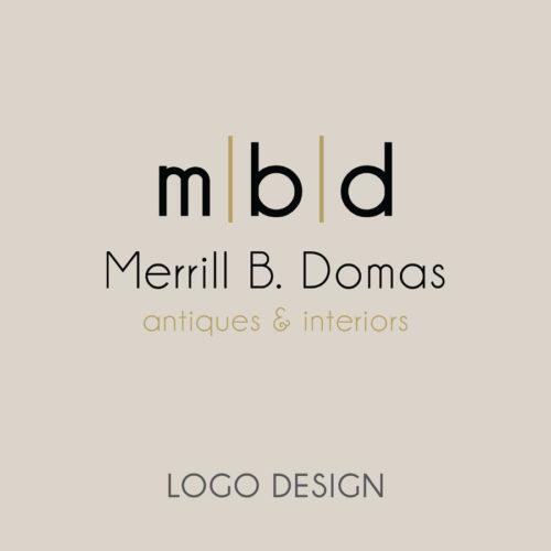 Logo Design for Merrill B. Domas
