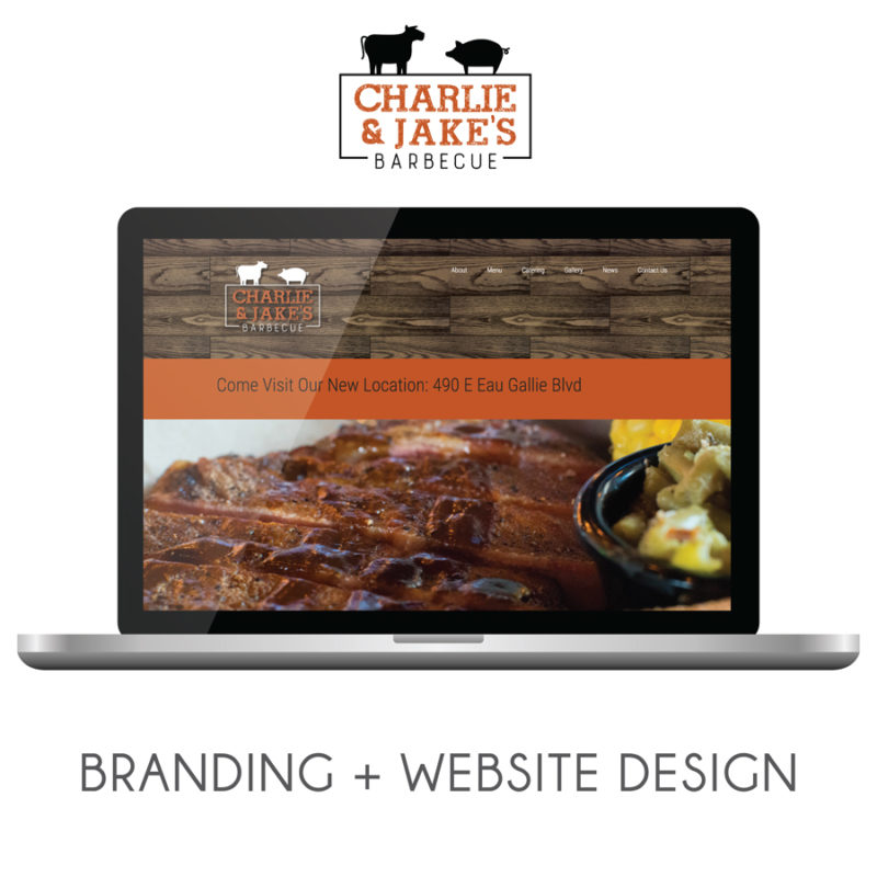 Charlie & Jake's   Rebranding + Website Design