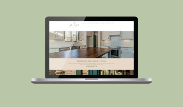 Agave Custom Homes Website Redesign