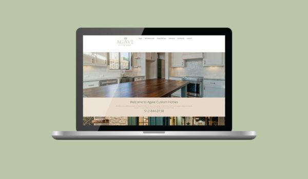 Agave Custom Homes Website Redesign