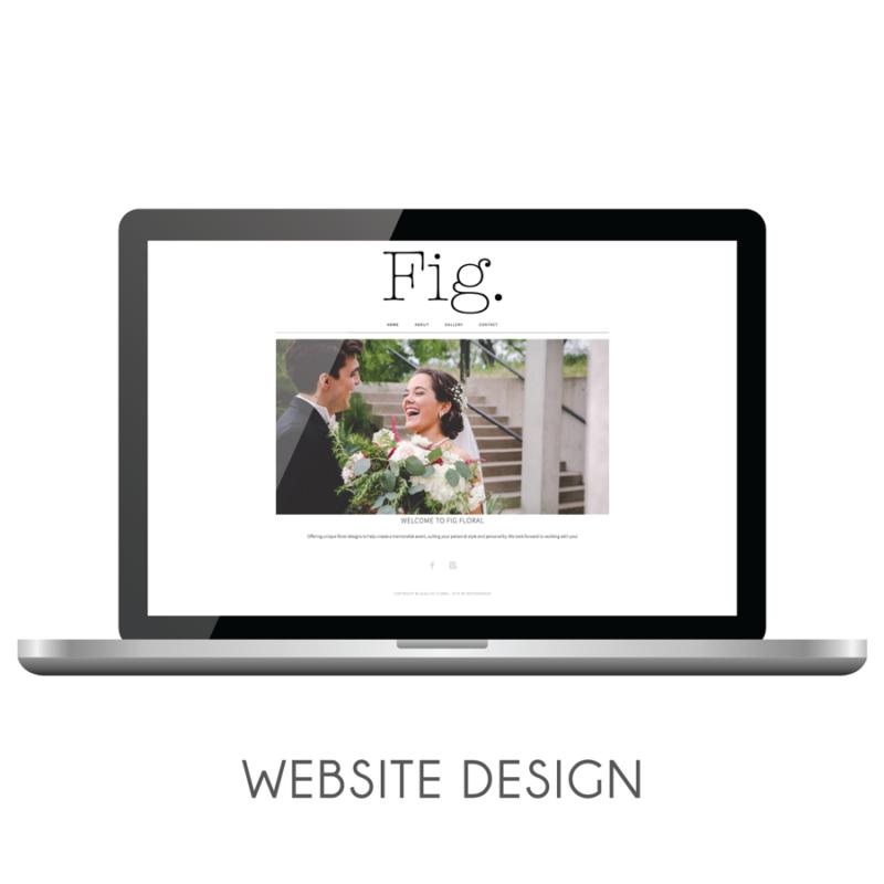 Fig Floral   Website Design
